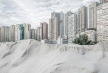 photo paysage urbain / by Estelle Chauvey