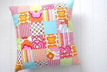 Pillow Tutorials / These are all easy, free tutorials for making pillow covers OR quilt blocks to use in making pillow covers.  Enjoy! / by Clothworks