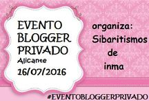 Eventos Bloggers en Alicante. / Eventos a los que asisto como Blogger