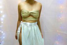 Jasmine cover up skirt