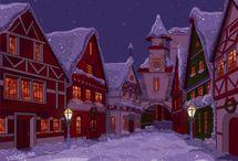Bellisimas Imágenes Animadas Navidad / De magia,de Navidad,De Sueños,De Ilusiones