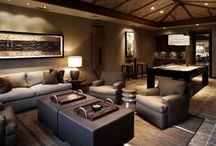 Family room ideas / by Teri Grimes Brown