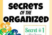 Get organized / by Jennifer Ethridge