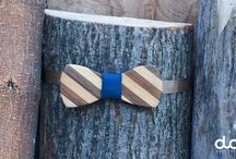 Dudi Bow Ties / wooden bow ties