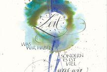 kalligraphie schriften