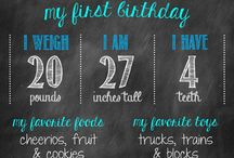 1 birthday ideas