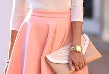 Fashion dress clothes shoes