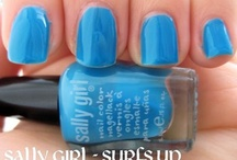 Sally Girl Nail Polish Swatches / by Allyson Callahan