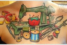Knitting/Sewing Tattoos