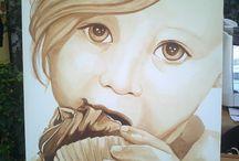 Coffee Art - Martina Lupi / Con Martina Lupi caffè  e arte si uniscono per dare vita a meravigliose opere.