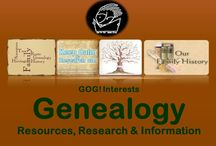 GOG! Genealogy / The Go On Girl! Book Club GROUP BOARD  - for GENEALOGY research, information, tips and resources (and of course books)!