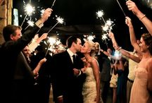 Wedding Sparkles / Wedding photos with sparklers