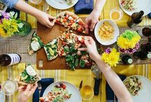 {dinner party}