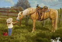 Because I love HORSES / by LaVon Baker
