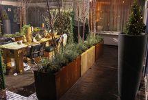 Verijdbare plantenbak