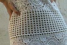 vestidos croché