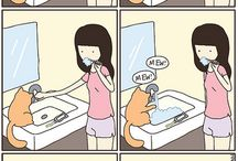 Cat Comics / Cats are too funny. They make great comic and cartoon material. Here's a collection of the most hilarious strips that we think our fellow Fort Worth citizens will enjoy. After all, half the reason to go on the internet is to look at cats!