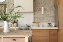 Exposed Wood Kitchens