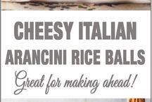 Wedding food italiano / Canape ideas