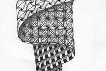 Zentangles / Drawing patterns
