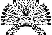 INCA EMPIRE COLORING BOOK / INCA EMPIRE COLORING PAGES