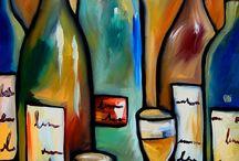 Toile vin
