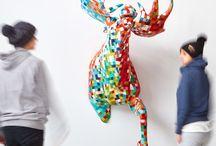 Animals - Paper Sculpture / OUR SCULPTURE