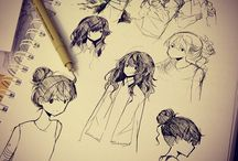 Hairstyles/Faces