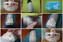 Tiaras for cakes