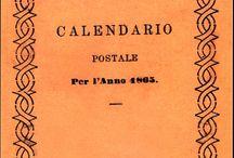 Il Natale delle Poste / Immagini storiche sul Natale e copertine dei calendari dal 1894