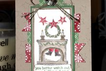 Stampin Up Get Your Santa On