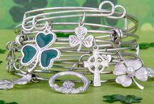 A Little Luck & A lot of Charm. / A little luck o' the Irish!