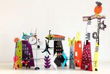 Cities / Balade en ville avec Mon Petit Art.