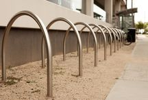Pushbike Parking / Having the right gear for your bicycle commute makes a real difference. We're here to make sure the end of trip is just as good. How do we do that? By providing best in class spatial design, bicycle parking, secure storage and change room facilities.