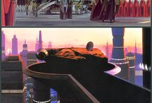 Original concept art for Star Wars