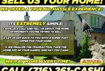 Cash for Houses - Buffalo, NY / WE BUY HOUSES IN BUFFALO, NY AND SURROUNDING AREAS!!