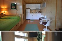 tiny homes / by Bruce Oldham