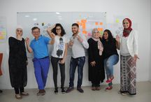 JORDAN - AMMAN ENTREPRENEURSHIP / How to evaluate an Entrepreneurship idea two workshops run in Amman Jordan for the Young Entrepreneurship Association.