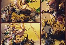 Skaven / #hellpitabomination #hellpit #skaven #warhammer #fantasy #wfb
