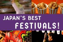Festivals + Japan Travel