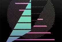 80's poster design