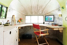 my new old trailer office / by laurelwil