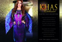 Khas Exclusive digital Silk Collection / digital silk stitich & unstitch