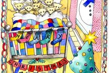 Christmas Cards / Snowman series - Christmas  Cards