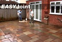 Bedding, Jointing and Pointing Mortars for Paving / mortars and grouts for setting and bedding of hard landscape products, paving, drainage channels and road ironwork & jointing and pointing mortars for industrial and domestic paving and sand stabilisers for block paving