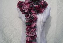 Pretty  Woman  / Hand-knitted  Fashion  Scarves & more... / by designbyelena