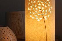 Waldorf paper & lamps