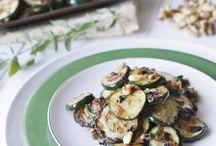 Side Salads, Veggies + Rice