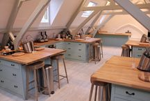Development kitchen - (bit like Saturday Kitchen!!!) / To design a development kitchen for one of our clients, it has to be soft, a bit like a home kitchen, a bit like Saturday kitchen................ / by Catering Projects