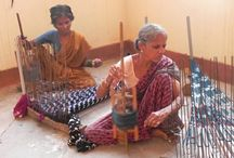 women weavers of South India